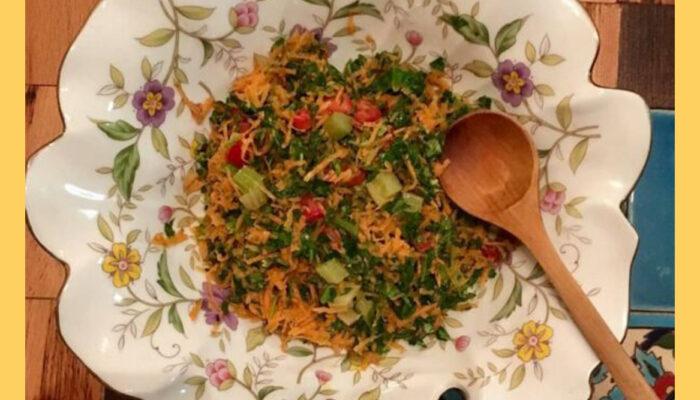 digestive anti kapha salad